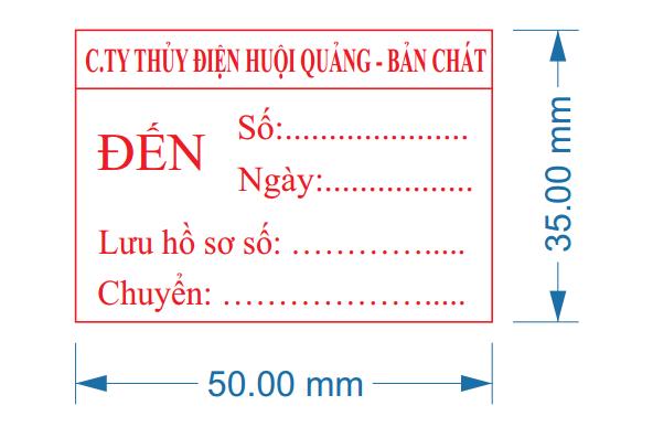 Khắc dấu công văn đến tại Hà Nội