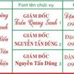 Khắc dấu tên giá rẻ lấy ngay tại Hà Nội