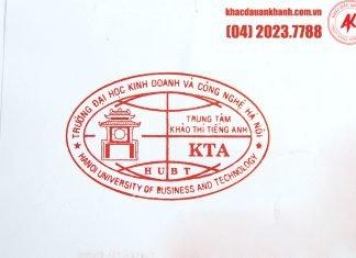 Khắc dấu Logo công ty