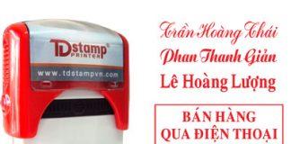 Khắc con dấu tại Hà Nội