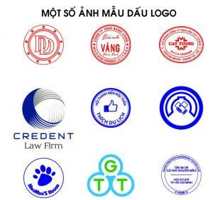 mẫu dấu logo