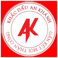 Khắc dấu logo tròn doanh nghiệp