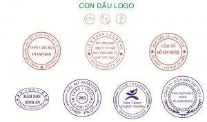 Mẫu khắc dấu logo