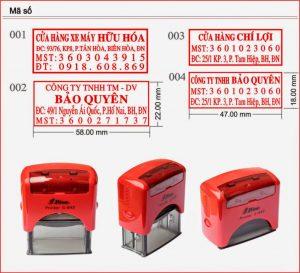 Khắc dấu mã số thuế chất lượng cao