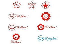 Mẫu logo biểu tiểu học thông dụng