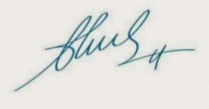 Mẫu dấu chữ ký liền mực