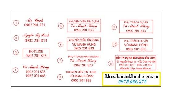 Dịch vụ khắc dấu mã số thuế