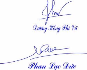 Mấu dấu chữ ký đẹp