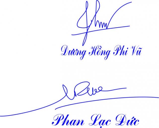 Mẫu dấu chữ ký đẹp