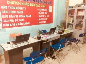 Dịch vụ làm con dấu tại An Khánh