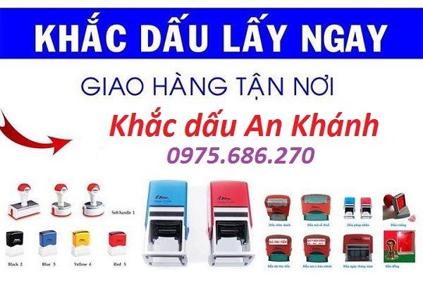 Dịch vụ khắc dấu tại Hà Nội chất lượng và uy tín nhất hiện nay
