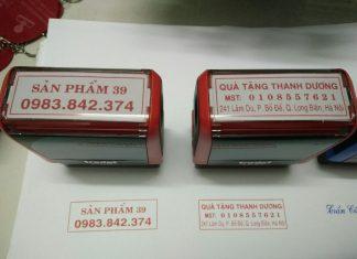 khắc dấu địa chỉ công ty
