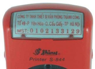 Khắc dấu mã số thuế lấy ngay tại Hà Nội
