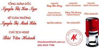 Khắc dấu tên giá rẻ tại Hà Nội