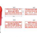 Khắc dấu mã số thuế tại An Khánh