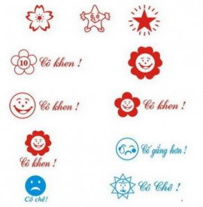 Dấu logo tiểu học