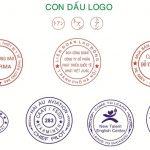 Mẫu dấu logo công ty