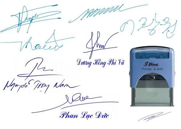 Dấu chữ ký có giá trị pháp lý hay không?