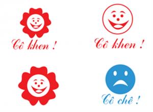 Mẫu dấu logo tiểu học